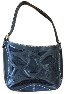 Antonio Melani Cowboy Pony Hair Leather Jute Stitching Leather Shoulder Bag