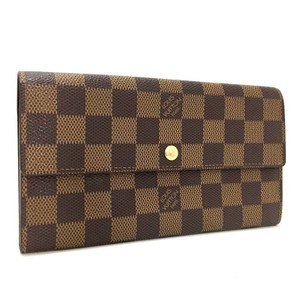 Louis Vuitton Louis Vuitton Damier Ebene Sarah Long Bifold Wallet