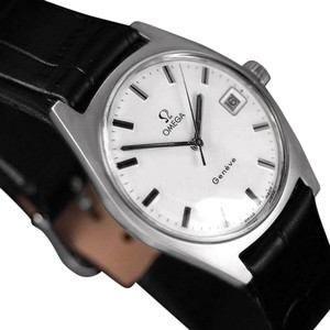Omega 1970 Omega Geneve Vintage Mens Watch, Quick-Setting Date