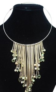 jjasmine CHOKER BIB DANGLE NECKLACE ONE OF IT KIND