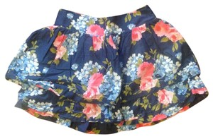 Abercrombie & Fitch Mini Skirt Multi floral