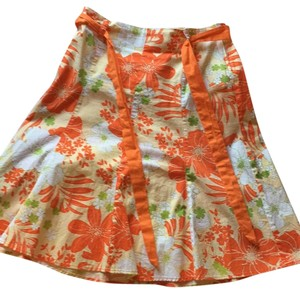 Spring Step Skirt Orange