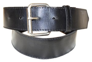 Black Belt Black roller buckle belt