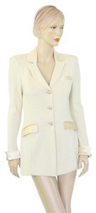 St. John St Evening Jacket Cream Blazer