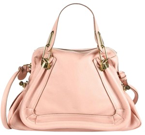 Chloé Tote in Anemone Pink