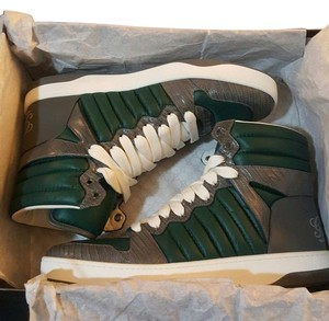 Gucci Leather Sneakers Fashion Designer Athletic