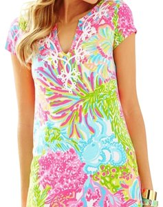 Lilly Pulitzer short dress More Lovers Coral on Tradesy