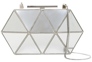 Vince Camuto Box Mirror Clutch