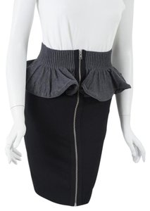 Alexander McQueen Skirt Black/Grey