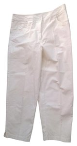 Talbots Size 16 Trouser Pants White