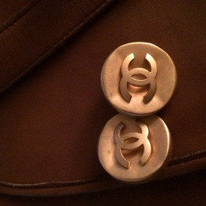 Chanel Round Chanel Clip Earring