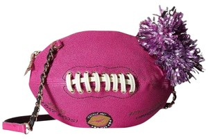 Betsey Johnson Football Sports Fun Cross Body Bag
