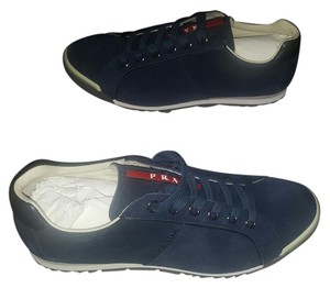 Prada Sneakers Suede navy Athletic