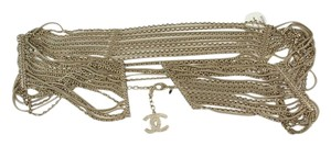 Chanel CHANEL Pale Goldtone Chain Belt Sz 90 cm / 35.5
