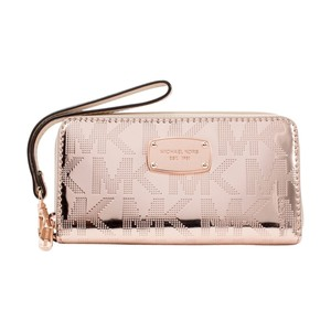 Michael Kors Electronics LG Multi-function Phone Case Wallet Wristlet, Rose Gold