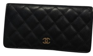 Chanel Classic Quilted Bifold Wallet