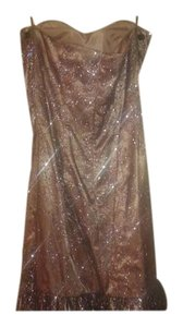 DEB Beaded Sequin Prom Dress