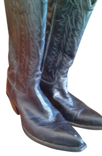 Preload https://item5.tradesy.com/images/justin-boots-black-boots-2018124-0-0.jpg?width=440&height=440