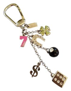 Coach FINAL SALE! RARE EUC! Coach LUCKY MIX Keychain AND dust bag
