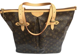 Louis Vuitton Purse Shoulder Tote in Monogram Canvas
