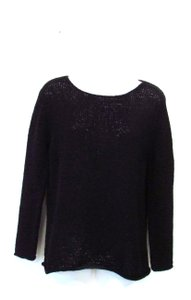Debra DeRoo Crewneck Open Knit Sweater