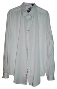Robert Graham Mens Shirt Button Down Shirt white