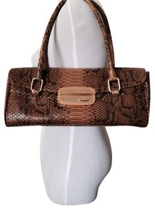 XOXO Satchel in Brown/Gold