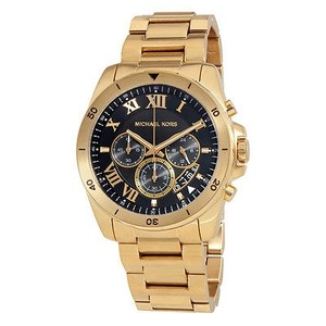 Michael Kors Michael Kors Brecken Black Dial Chronograph Mens Watch