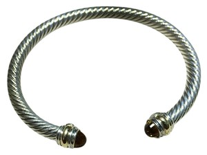 David Yurman Cable Classic Bracelet with Citrine and 14K Gold, 5mm