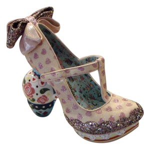 Irregular Choice Cosplay Glitter Size 9 Pink Platforms