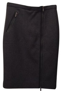 J.Crew Skirt Charcoal with black lining