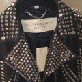 Burberry Brit Black with silver spikes Leather Jacket Image 4