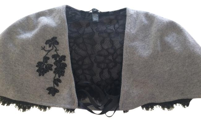 Preload https://img-static.tradesy.com/item/2018190/robert-rodriguez-gray-with-black-lace-ponchocape-size-8-m-0-0-650-650.jpg