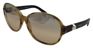Chanel Mirrored Tortoise w/Brown Chanel Sunglasses 5131-H c.938/3D 60