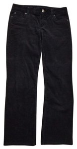 J.Crew Favorite Fit Cords Corduroy Fall Winter Boot Cut Pants BLACK