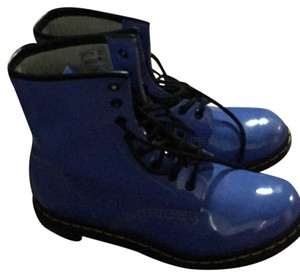Dr. Martens Purple-blue Boots