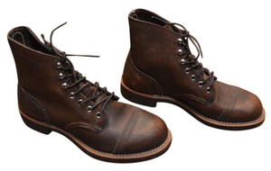 Red Wing Leather Brown Boots