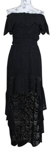 Nightcap Off The Cold Lace High Low Spanish Dress