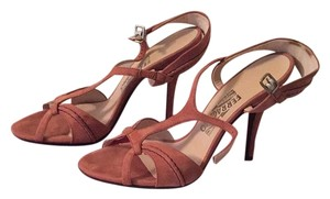 Salvatore Ferragamo Blush Pink Sandals