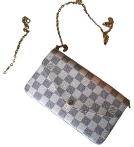 Louis Vuitton Felicie Clutch Cross Body Bag