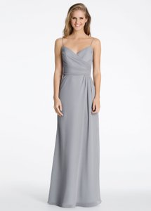 Hayley Paige Pewter 5603 Dress