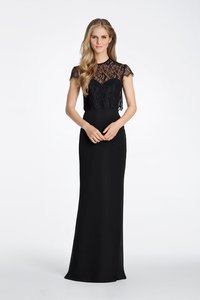 Hayley Paige Black 5621 Dress