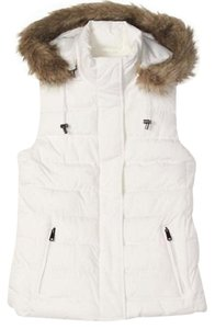 Banana Republic Very Pretty Vest! Removable Hood Super Warm & Soft! Vest