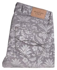 Abercrombie & Fitch Skinny Floral Jeggings Floral Print Skinny Jeans