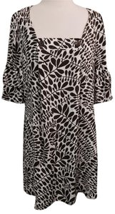 Trina Turk Trina Turk Cuddle Fronds Silk jacquard Dress