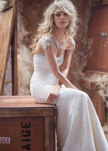 Hayley Paige Kadence Dress & Bolero Wedding Dress