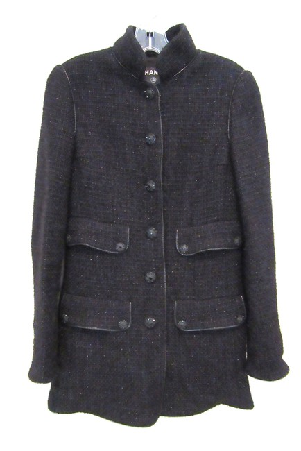 Preload https://img-static.tradesy.com/item/20182875/chanel-black-tweed-jacket-with-jet-bead-buttons-french-36-size-6-s-0-0-650-650.jpg