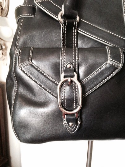 Cole Haan Satchel in Black Image 1