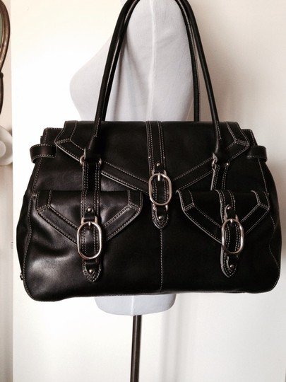Cole Haan Satchel in Black Image 7