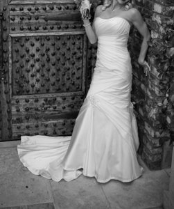 Casablanca Trumpet/mermaid Wedding Dress